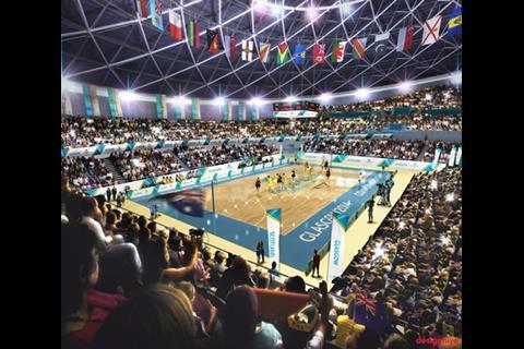 Norman Foster's Netball Arena